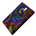 Pop Art Paisley Flowers Ornaments Multicolored Samsung Galaxy Tab S (8.4 ) Hardshell Case  View4