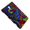 Pop Art Paisley Flowers Ornaments Multicolored Samsung Galaxy Tab S (8.4 ) Hardshell Case  View5