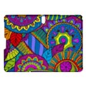 Pop Art Paisley Flowers Ornaments Multicolored Samsung Galaxy Tab S (10.5 ) Hardshell Case  View1