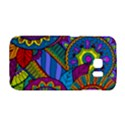 Pop Art Paisley Flowers Ornaments Multicolored Galaxy S6 Edge View1