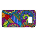 Pop Art Paisley Flowers Ornaments Multicolored Galaxy S6 View1