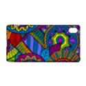 Pop Art Paisley Flowers Ornaments Multicolored Sony Xperia Z3+ View1