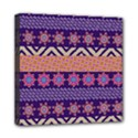 Colorful Winter Pattern Mini Canvas 8  x 8  View1