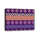Colorful Winter Pattern Mini Canvas 7  x 5  View1