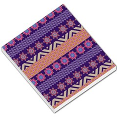 Colorful Winter Pattern Small Memo Pads