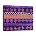 Colorful Winter Pattern Deluxe Canvas 20  x 16   View1