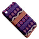 Colorful Winter Pattern Apple iPhone 3G/3GS Hardshell Case View5