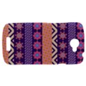 Colorful Winter Pattern HTC One S Hardshell Case  View1