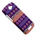 Colorful Winter Pattern HTC One S Hardshell Case  View5