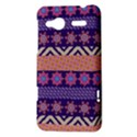 Colorful Winter Pattern HTC Radar Hardshell Case  View3