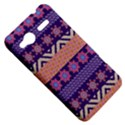 Colorful Winter Pattern HTC Radar Hardshell Case  View5