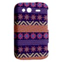 Colorful Winter Pattern HTC Wildfire S A510e Hardshell Case View2