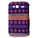 Colorful Winter Pattern HTC Wildfire S A510e Hardshell Case View3