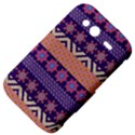 Colorful Winter Pattern HTC Wildfire S A510e Hardshell Case View4