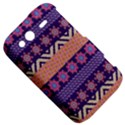 Colorful Winter Pattern HTC Wildfire S A510e Hardshell Case View5