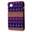 Colorful Winter Pattern Samsung Galaxy Tab 7  P1000 Hardshell Case  View3