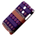Colorful Winter Pattern Samsung S3350 Hardshell Case View4