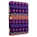 Colorful Winter Pattern Samsung Galaxy Tab 8.9  P7300 Hardshell Case  View2