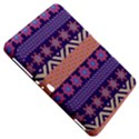 Colorful Winter Pattern Samsung Galaxy Tab 8.9  P7300 Hardshell Case  View5