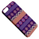 Colorful Winter Pattern Apple iPhone 5 Classic Hardshell Case View5