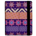Colorful Winter Pattern Apple iPad 2 Flip Case View2