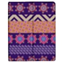 Colorful Winter Pattern Apple iPad 3/4 Flip Case View1