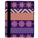 Colorful Winter Pattern Apple iPad 3/4 Flip Case View3