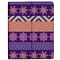 Colorful Winter Pattern Apple iPad Mini Flip Case View1