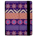 Colorful Winter Pattern Apple iPad Mini Flip Case View2