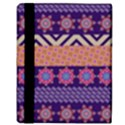Colorful Winter Pattern Apple iPad Mini Flip Case View3