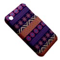 Colorful Winter Pattern Apple iPhone 3G/3GS Hardshell Case (PC+Silicone) View5