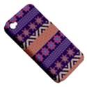 Colorful Winter Pattern Apple iPhone 4/4S Hardshell Case (PC+Silicone) View5