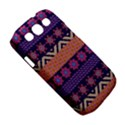 Colorful Winter Pattern Samsung Galaxy S III Classic Hardshell Case (PC+Silicone) View5