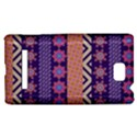 Colorful Winter Pattern HTC 8S Hardshell Case View1