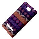 Colorful Winter Pattern HTC 8S Hardshell Case View4