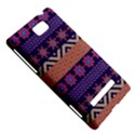 Colorful Winter Pattern HTC 8S Hardshell Case View5