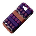 Colorful Winter Pattern Samsung Galaxy Premier I9260 Hardshell Case View4