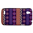 Colorful Winter Pattern HTC Desire V (T328W) Hardshell Case View1