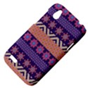 Colorful Winter Pattern HTC Desire V (T328W) Hardshell Case View4