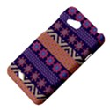 Colorful Winter Pattern HTC Desire VC (T328D) Hardshell Case View4