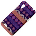 Colorful Winter Pattern HTC Desire VT (T328T) Hardshell Case View4
