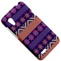 Colorful Winter Pattern HTC Desire VT (T328T) Hardshell Case View5