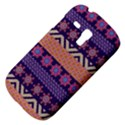 Colorful Winter Pattern Samsung Galaxy S3 MINI I8190 Hardshell Case View4