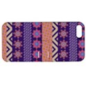 Colorful Winter Pattern Apple iPhone 5 Hardshell Case with Stand View1