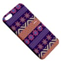 Colorful Winter Pattern Apple iPhone 5 Hardshell Case with Stand View5