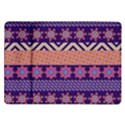 Colorful Winter Pattern Samsung Galaxy Tab 10.1  P7500 Flip Case View1