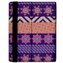 Colorful Winter Pattern Samsung Galaxy Tab 10.1  P7500 Flip Case View2