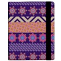 Colorful Winter Pattern Samsung Galaxy Tab 10.1  P7500 Flip Case View3