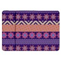 Colorful Winter Pattern Samsung Galaxy Tab 8.9  P7300 Flip Case View1