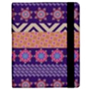 Colorful Winter Pattern Samsung Galaxy Tab 8.9  P7300 Flip Case View2